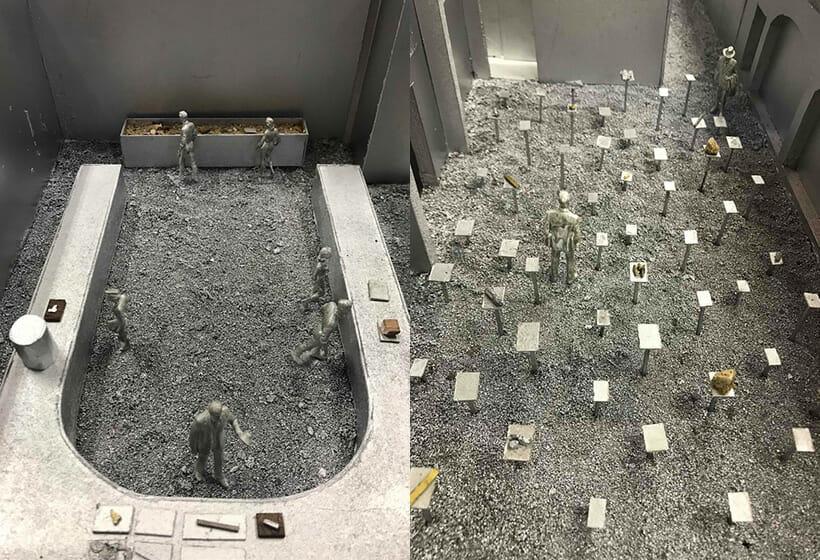 ハンドルメーカー・UNIONと田根剛がタッグを組み、ミラノデザインウィークで「砂型鋳造」の技術にフォーカスしたインスタレーションを展開