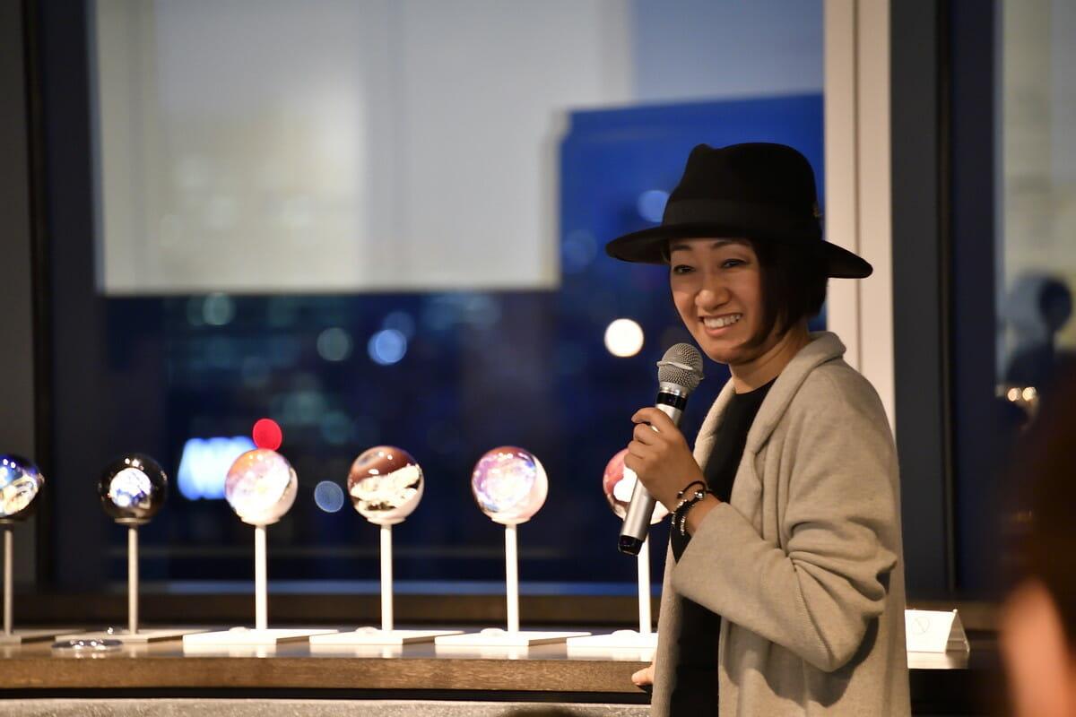 ガラスアーティスト・ノグチミエコさん