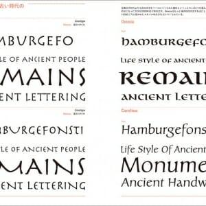 目的で探すフォント見本帳(Typography Books) (6)