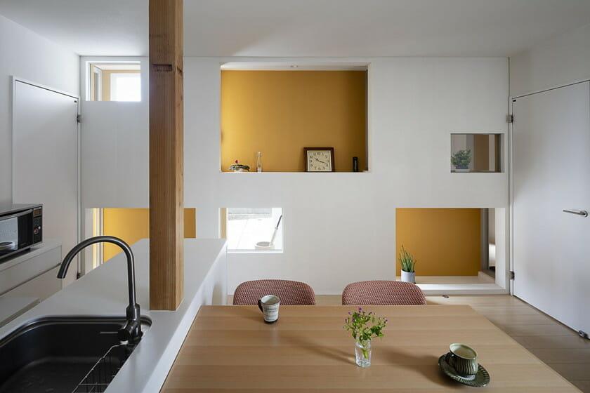 「だぶるすきんの家」室内画像