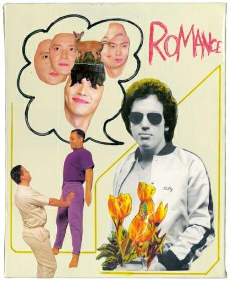 伊藤桂司&中原昌也による二人展「ROMANCE ~LOVE COMPOST DUB~」が5月18日より開催