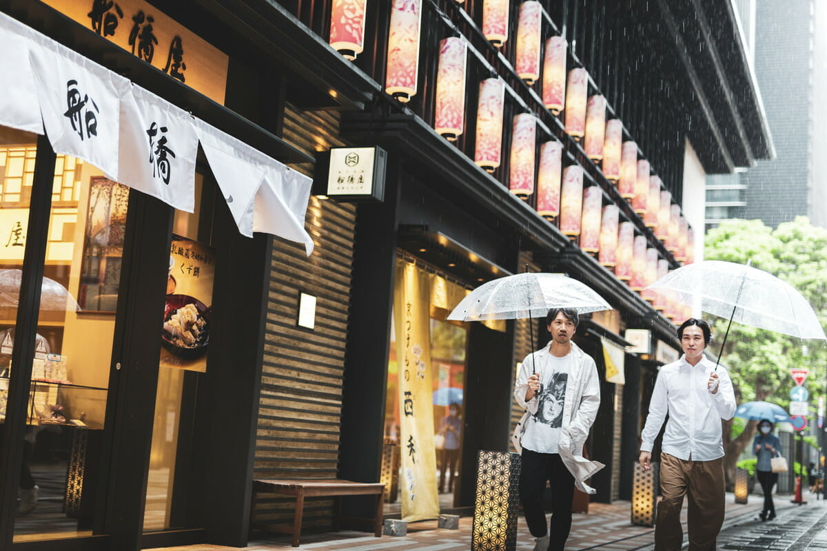 矢後直規、戸田宏一郎 日本橋での画像