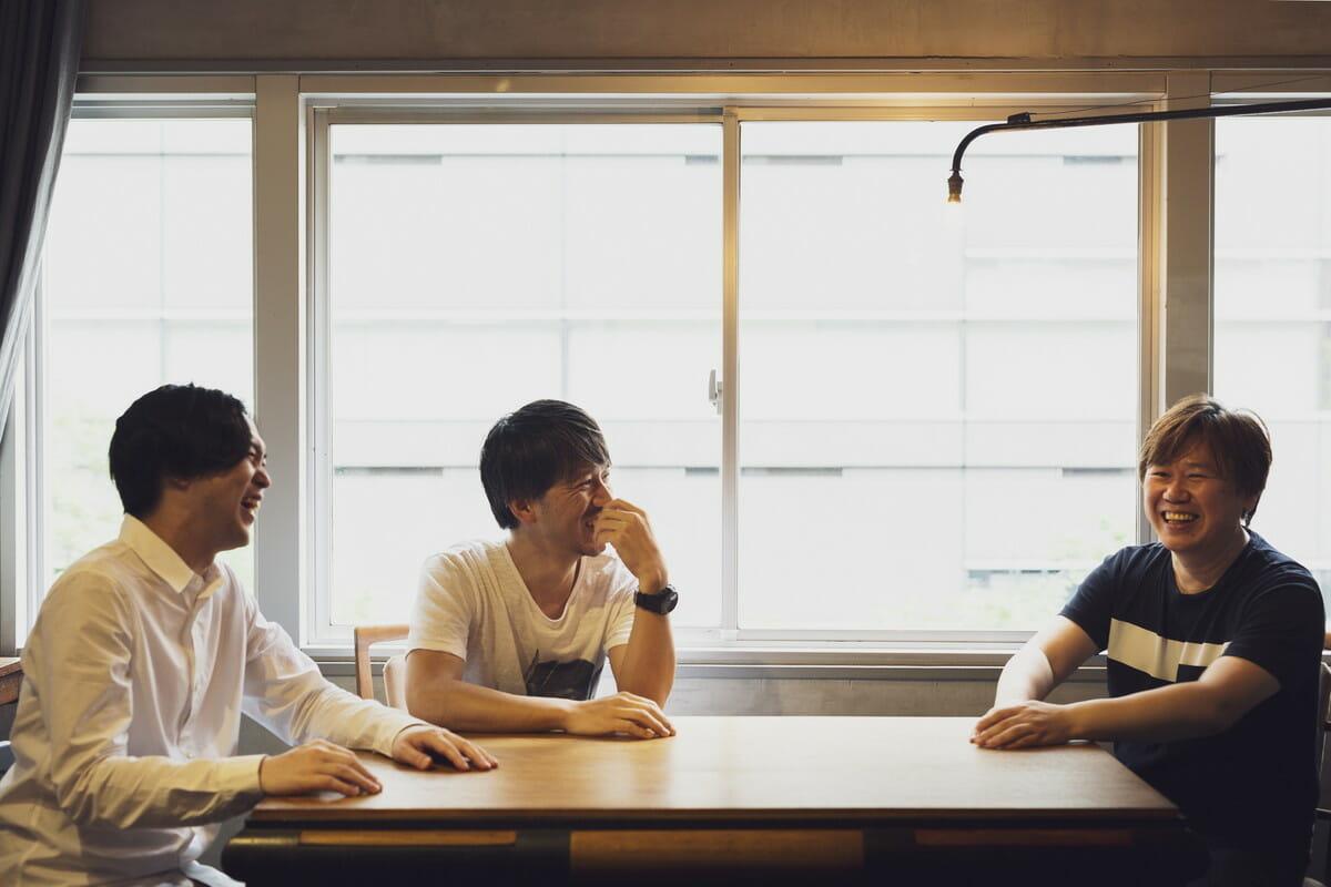 矢後直規さん(左)、戸田宏一郎さん(中)、朴正義さんの画像