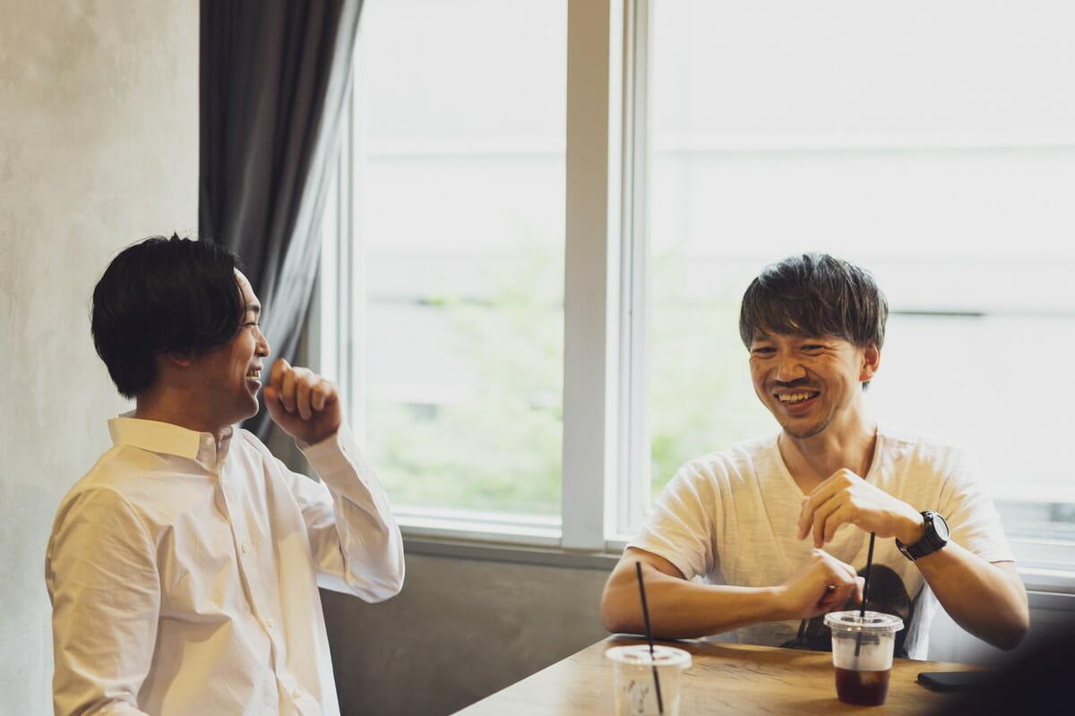 矢後直規、戸田宏一郎インタビュー画像