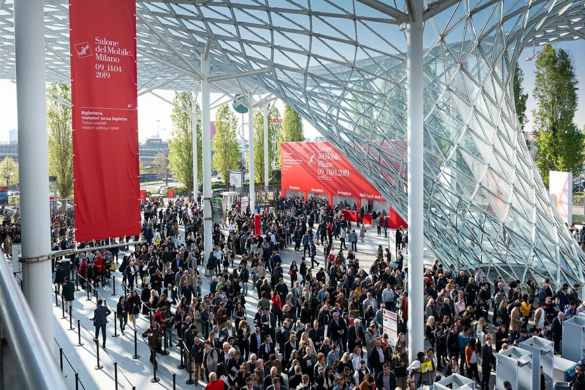 38万人を超える動員を記録した2019年のミラノサローネ、Photo:Courtesy Salone del Mobile.Milano/Alessandro Russotti
