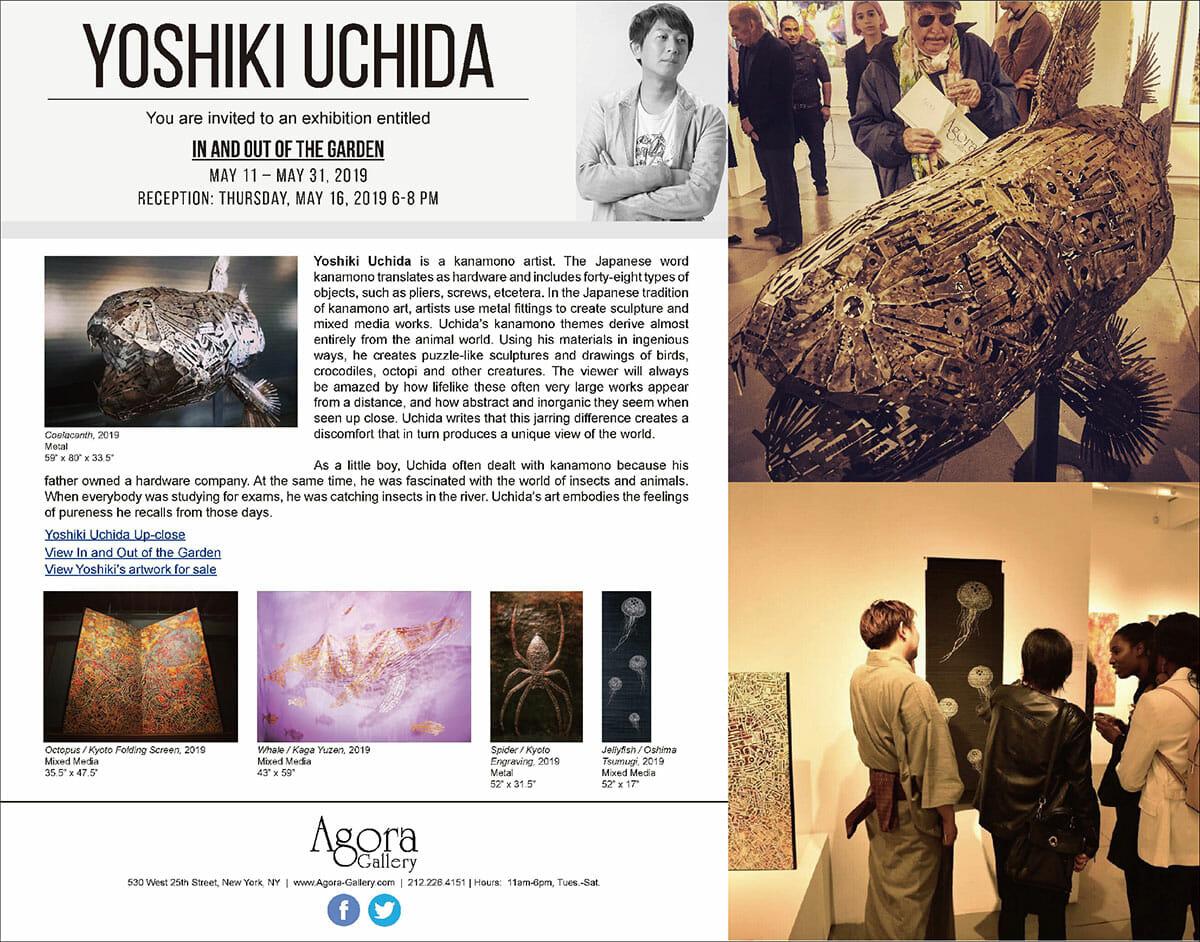 【Kanamono Art Exhibition at NY】From Agora Gallery