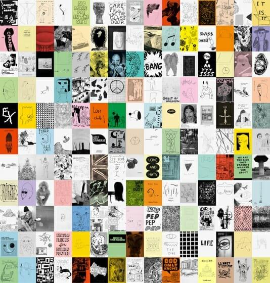 Nieves「Zine Wall」展