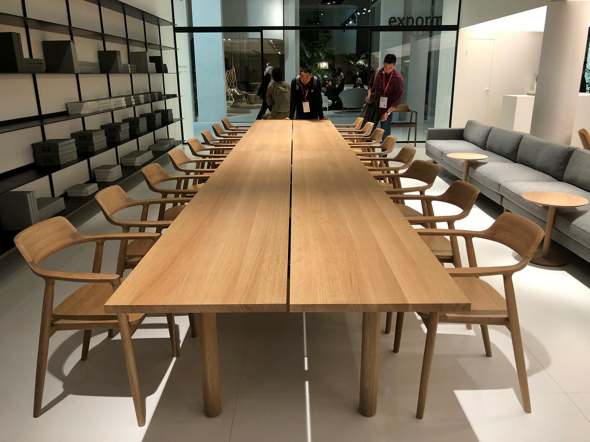 S.Projectからマルニ木工、日本からサローネに参加する5社のうちの1社