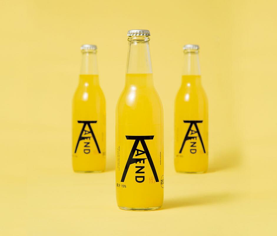 「媛人 A/END」Orange liqueur」Package