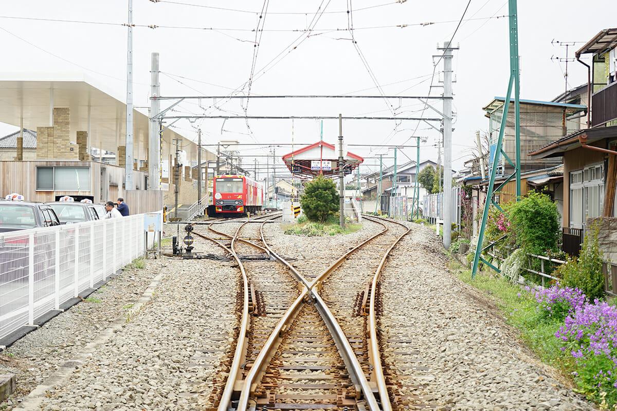蔟屋のある、上州富岡駅。JR高崎駅から上信電鉄に乗り換え約40分
