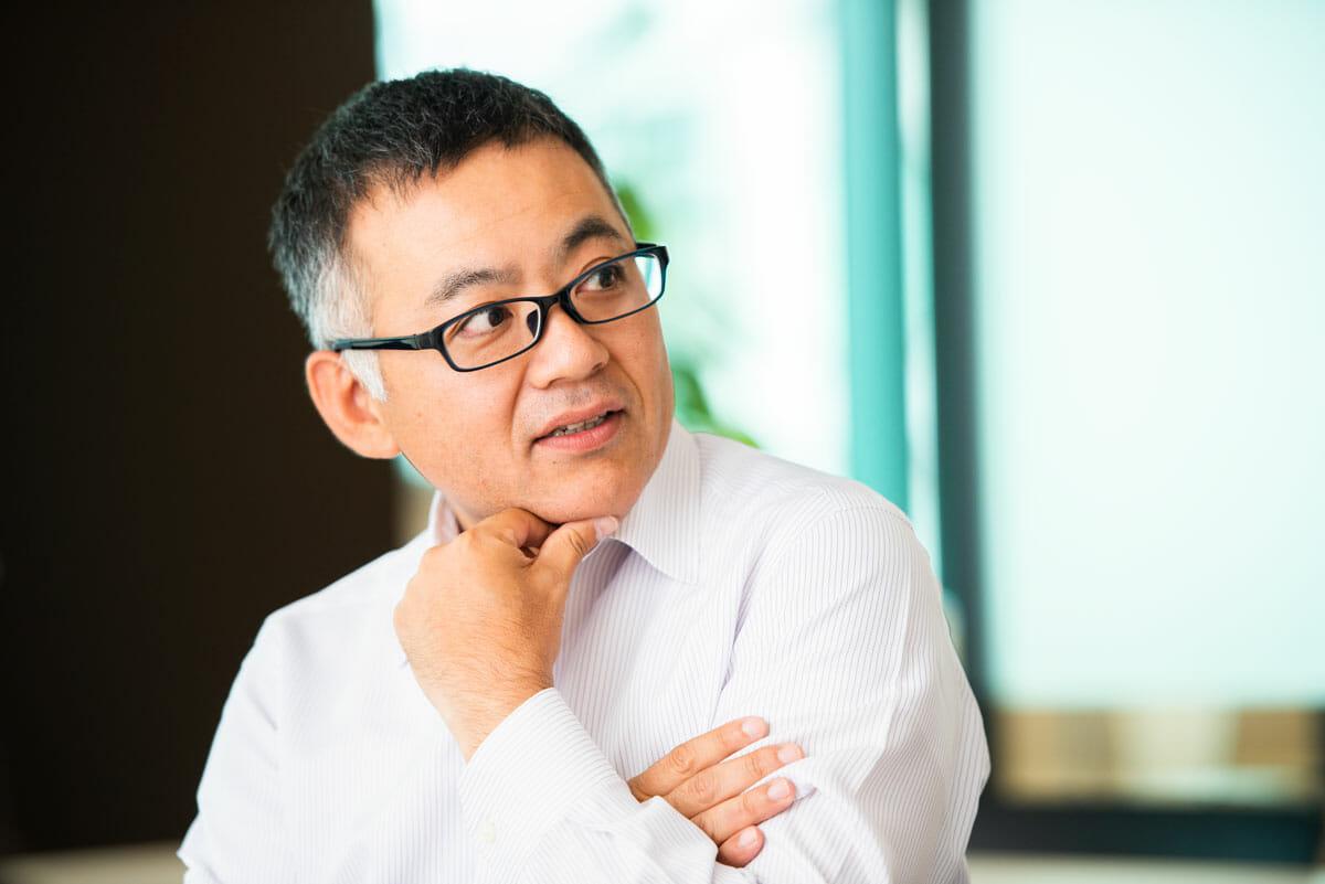 三井化学 研究開発本部 合成化学品研究所 塚田英孝さん