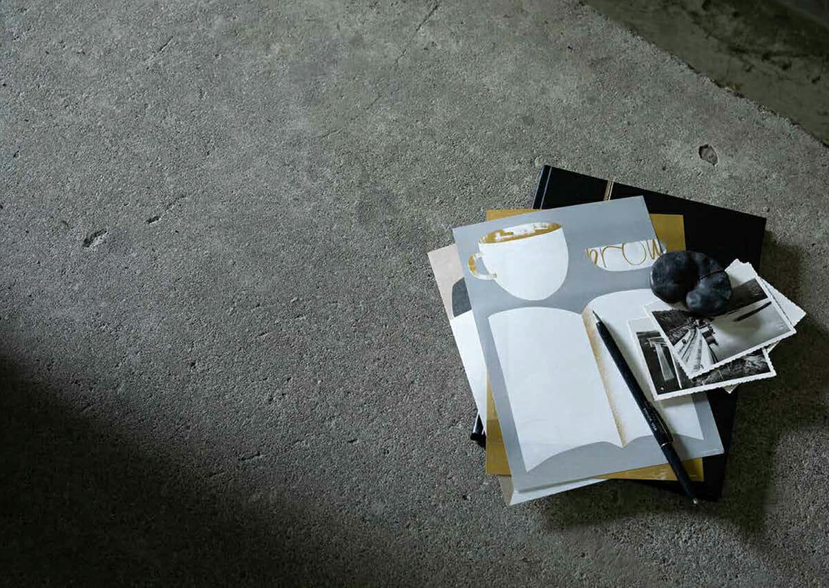 ムツロマサコさんの便箋「本とコーヒー」