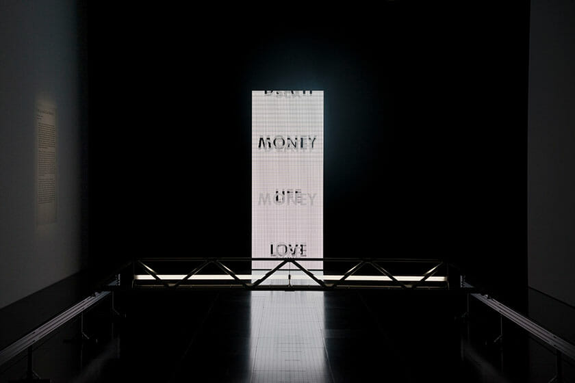 Dumb Type《LOVE/SEX/DEATH/MONEY/LIFE》 ©Centre Pompidou-Metz / Photo Jacqueline Trichard / 2018 / Exposition Dumb Type
