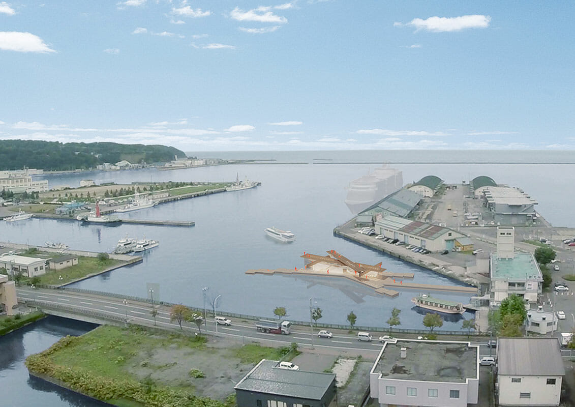 小樽港第三ふ頭水上カフェ計画 (4)