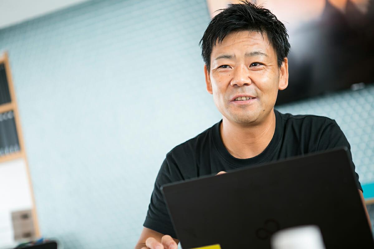 株式会社ジブンハウス 商品開発事業部 部長 樋貝真治さん