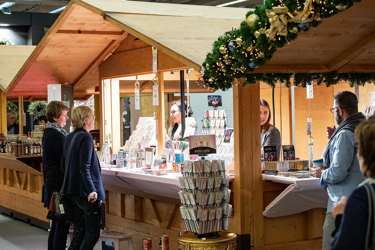 クリスマスマーケットを模した、Christmas Delights