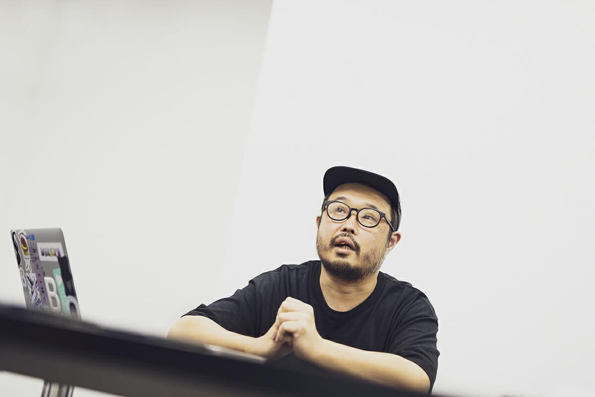 株式会社BAKE チーフクリエイティブディレクター 貞清誠治さん
