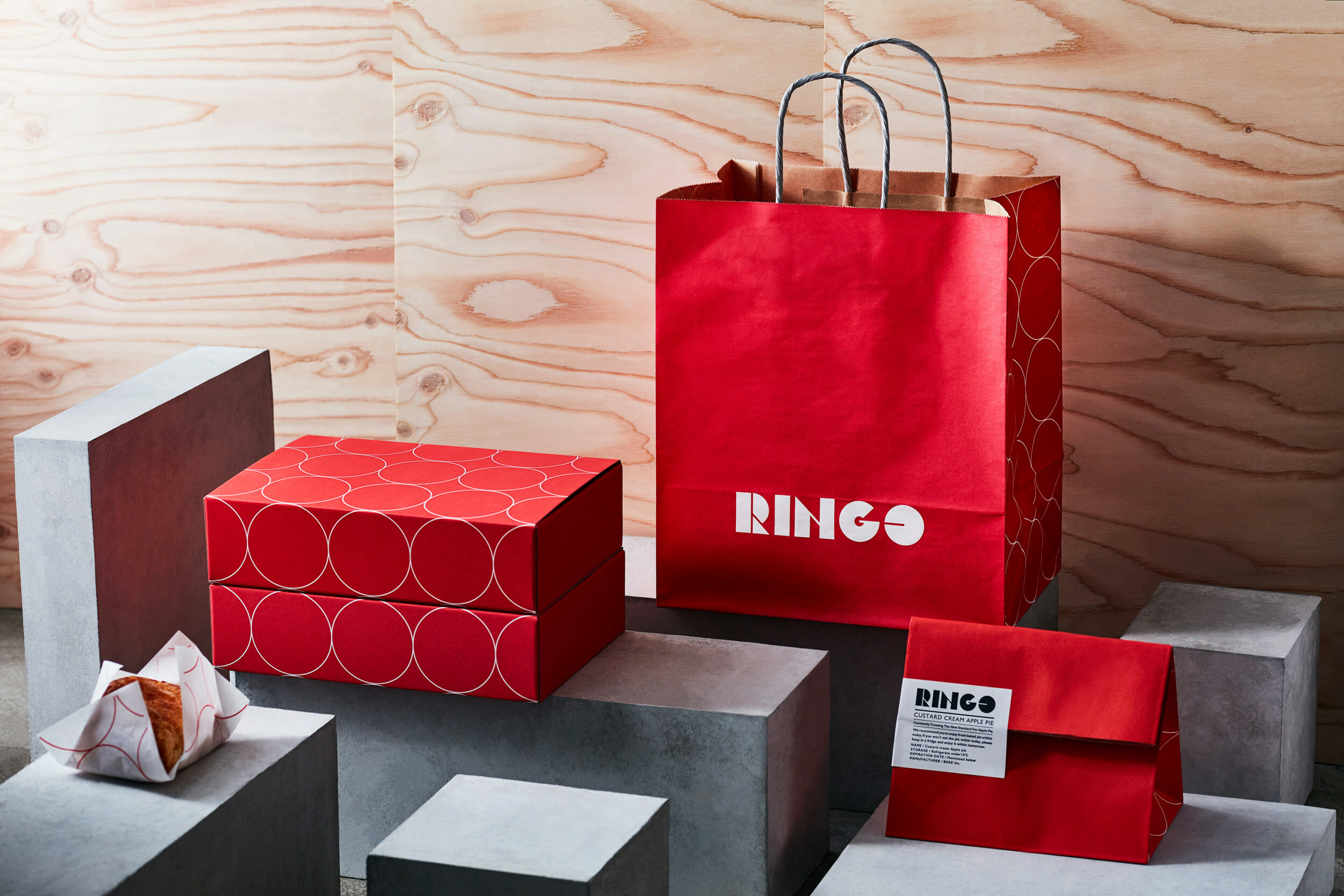 「RINGO」のパッケージデザイン