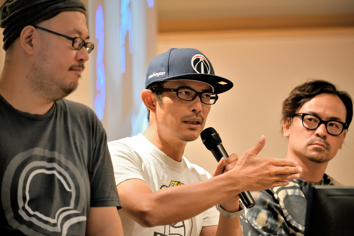 清水さん、豊田さん、川嵜さん