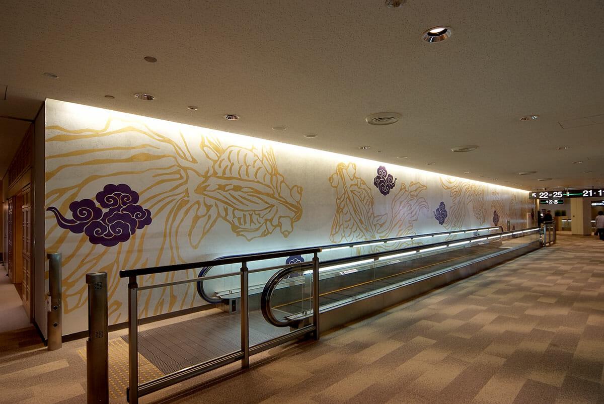 成田国際空港第一旅客ターミナル_Design by. Masami Takahashi 〈MASAMI DESIGN〉