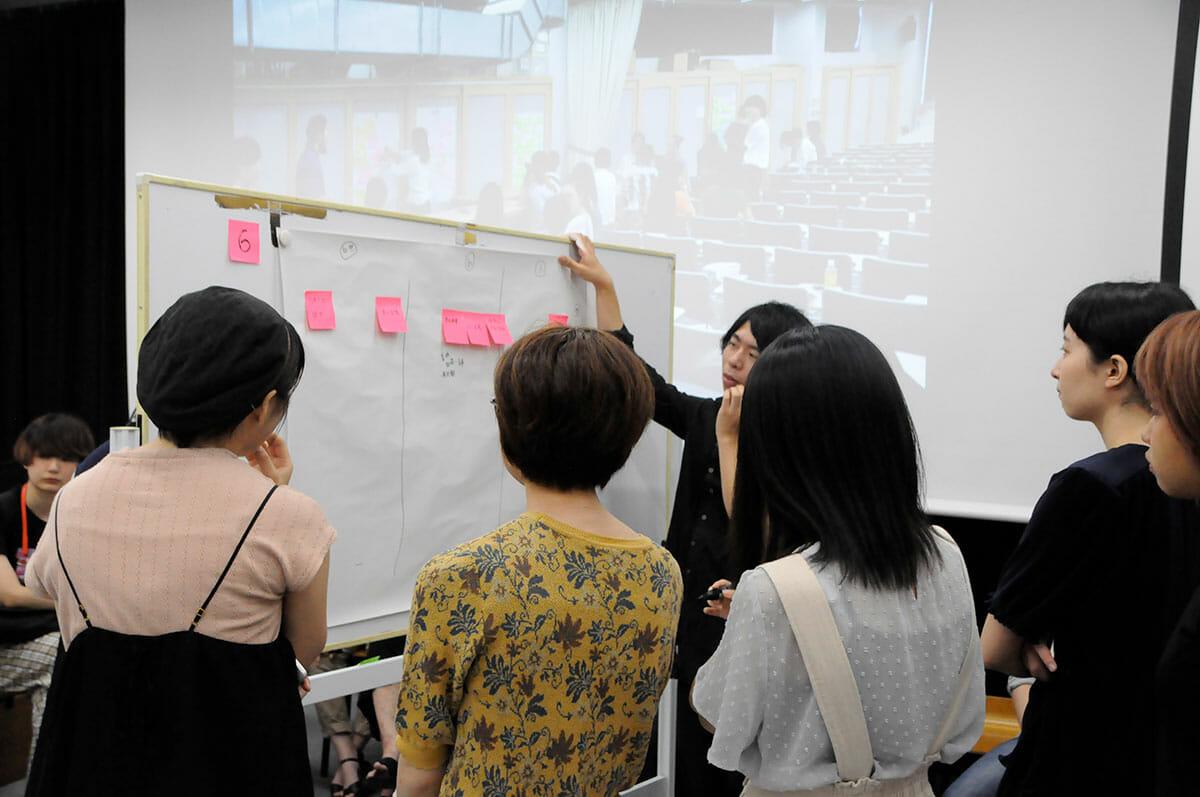 ユニバーサル・デザイン授業風景