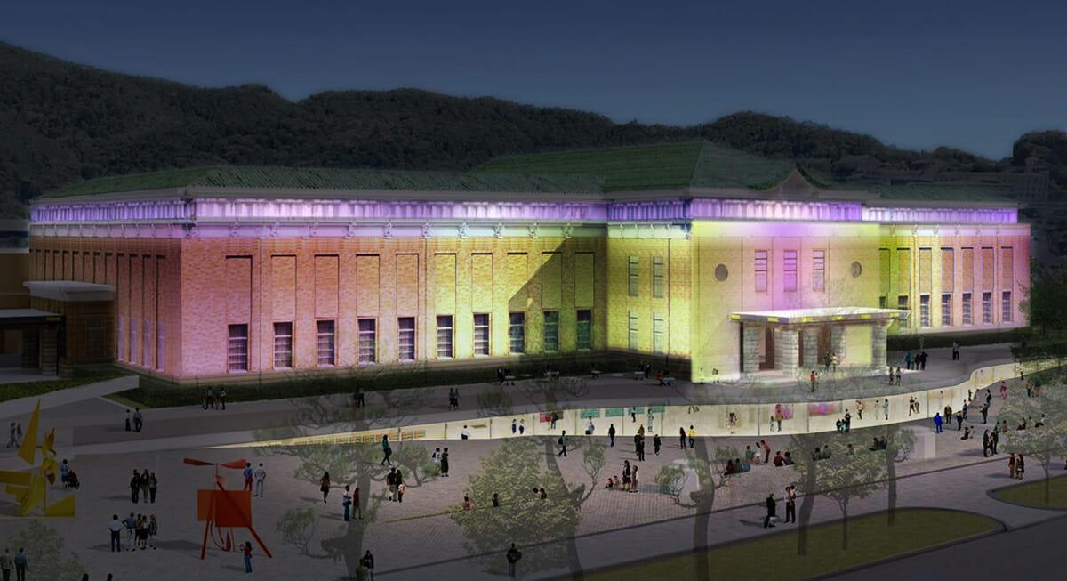 京都市京セラ美術館のプレオープニングイベント「CELEBRATING COLORS!」が12月より開催