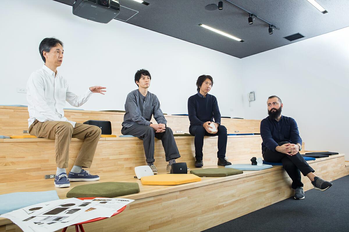 吉田さん、近藤さん、伊藤さん、アーメットさん