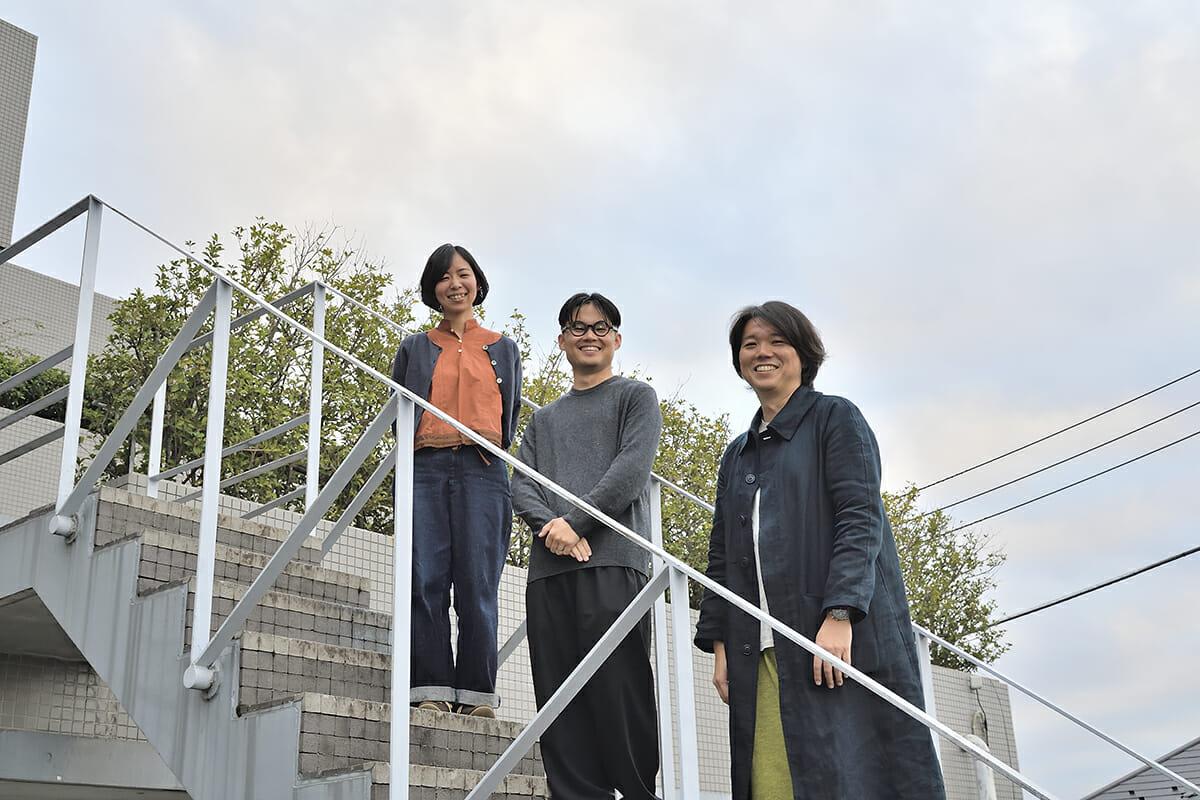 湯山さん、岡さん、田辺さん