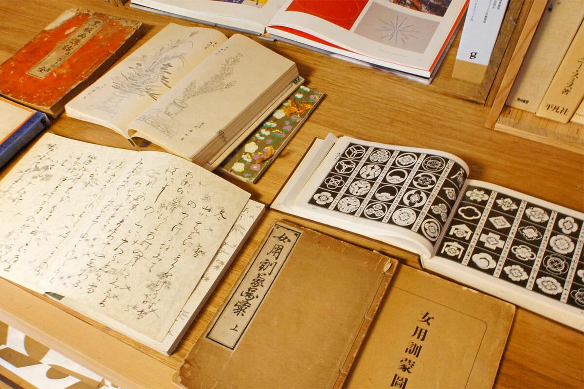 学生時代に京都にある、美術書専門の山崎書店で購入したという古書