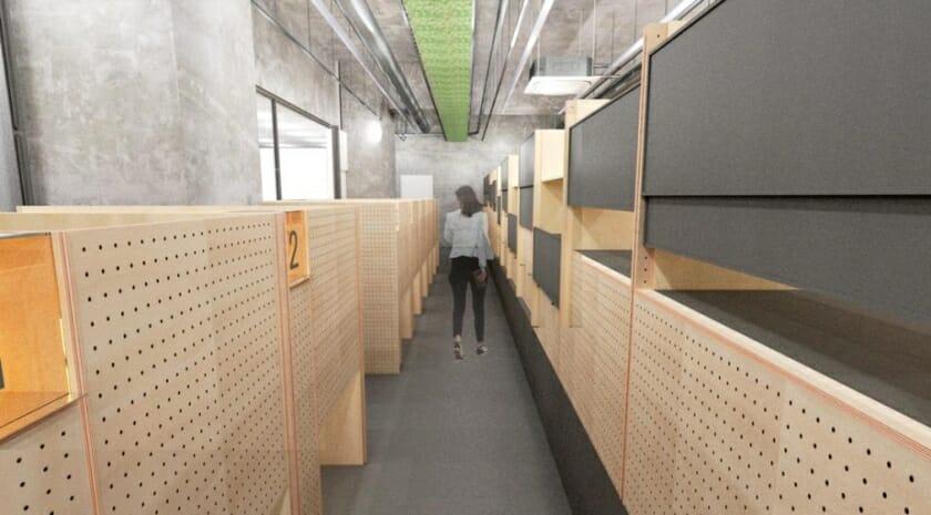 長坂常が設計したソロワーキングスペース「Think Lab汐留」が2020年2月にオープン