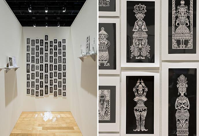 SICF20 グランプリアーティスト展 タナカマコト「切りひらひらく」