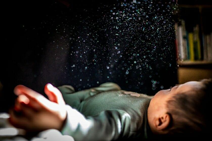 齋藤陽道 《星の情景》〈せかいさがし〉より 2019年 発色現像方式印画