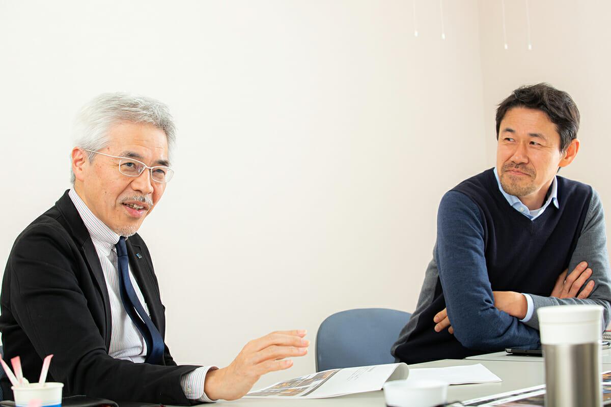 (写真左から)井ノ口清洋さん、坪井剛さん