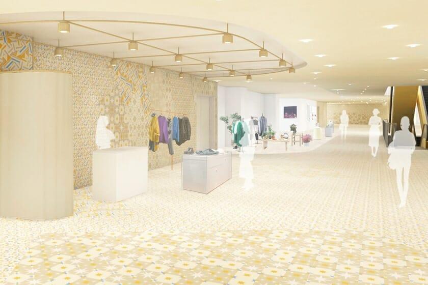 商業施設「NEWoMan横浜」の環境デザインを田根剛が担当。JR横浜駅西口に5月にオープン