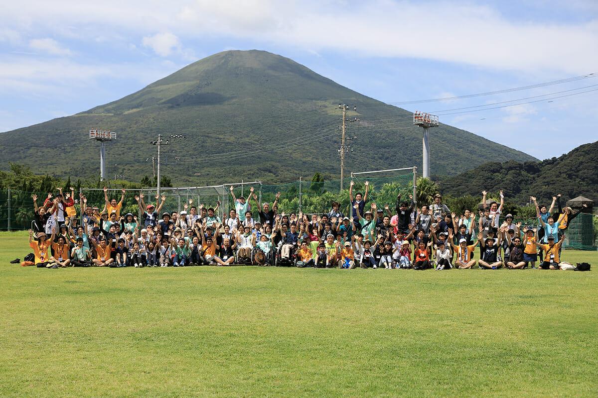 ユニバーサルキャンプ in 八丈島 開催の様子