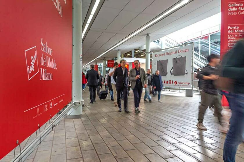 2020年のミラノサローネ国際家具見本市が、6月に開催延期決定