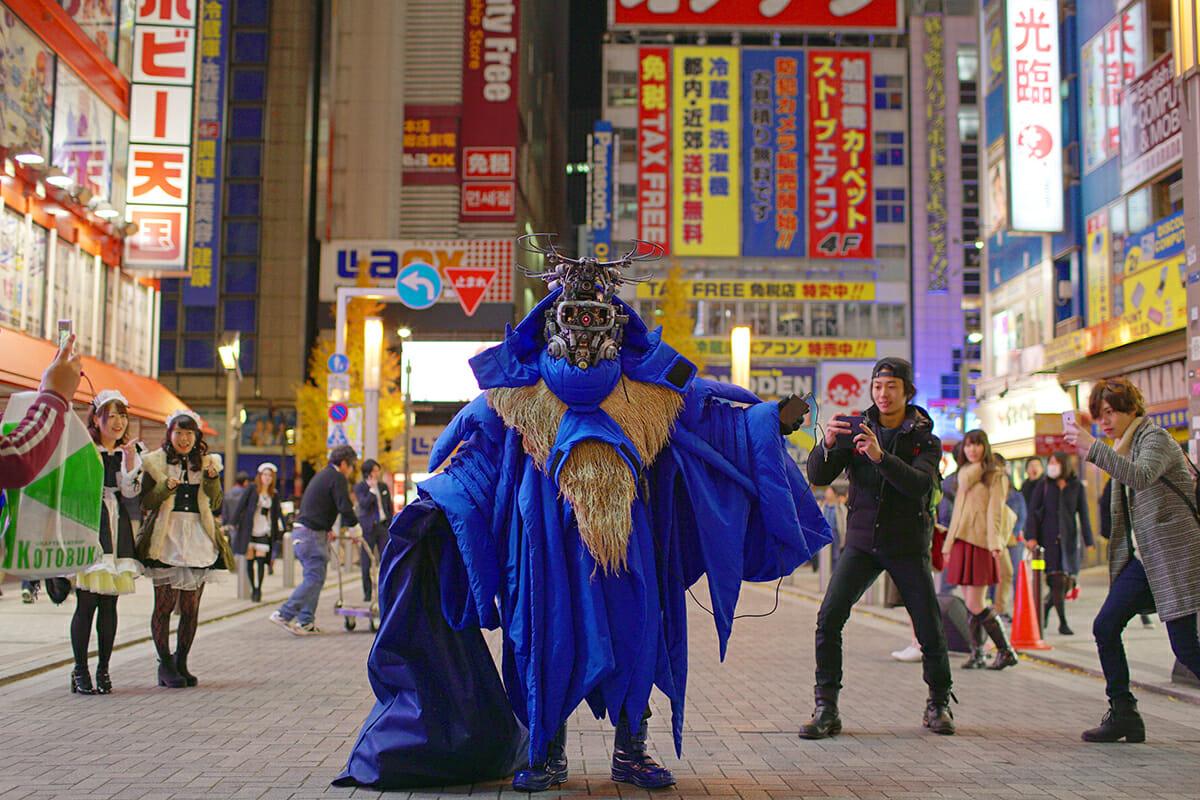 都市のナマハゲ – Namahage in Tokyo