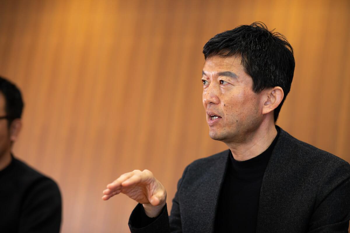 <strong>永野大輔</strong> ソニー企業株式会社代表取締役社長兼チーフブランディングオフィサー 1969年生まれ。1992年にソニー株式会社入社。営業、マーケティング、経営戦略、CEO室などを経て2017年から現職。「Ginza Sony Park Project」のリーダーとして、2013年からプロジェクトを推進し続け、2018年に「Ginza Sony Park」をオープンさせた。