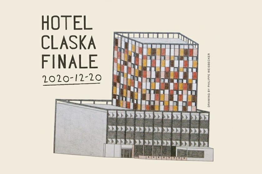 東京・目黒のHotel CLASKAが12月20日に閉館。閉館前には、フィリップ・ワイズベッカーの展示や各種キャンペーンも予定