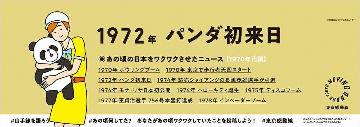「山手線Ver.2020by東京感動線」中づり広告