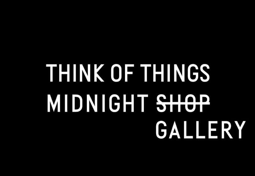 "THINK OF THINGSが""夜""をテーマにしたオンライン展示を、毎週金曜夜にオープン"