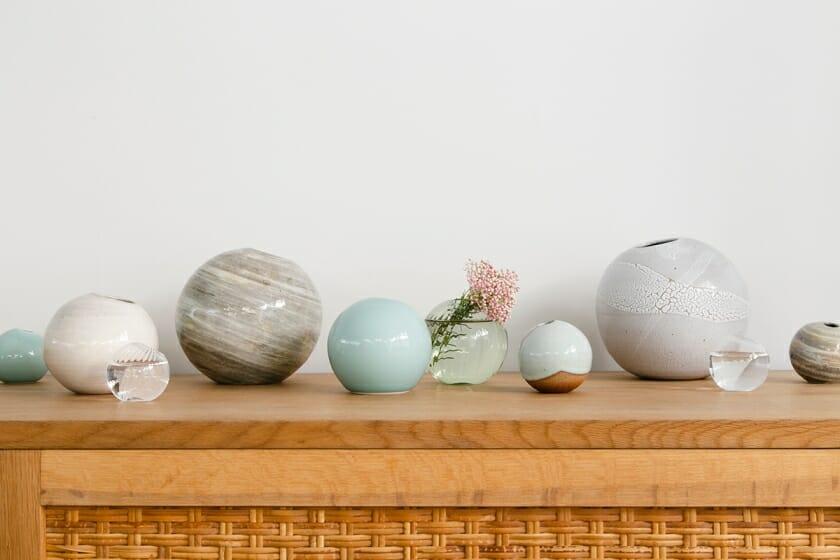 鈴木啓太×8工房の職人による花器のオンラインストア「ONE FLOWERWARE」がオープン