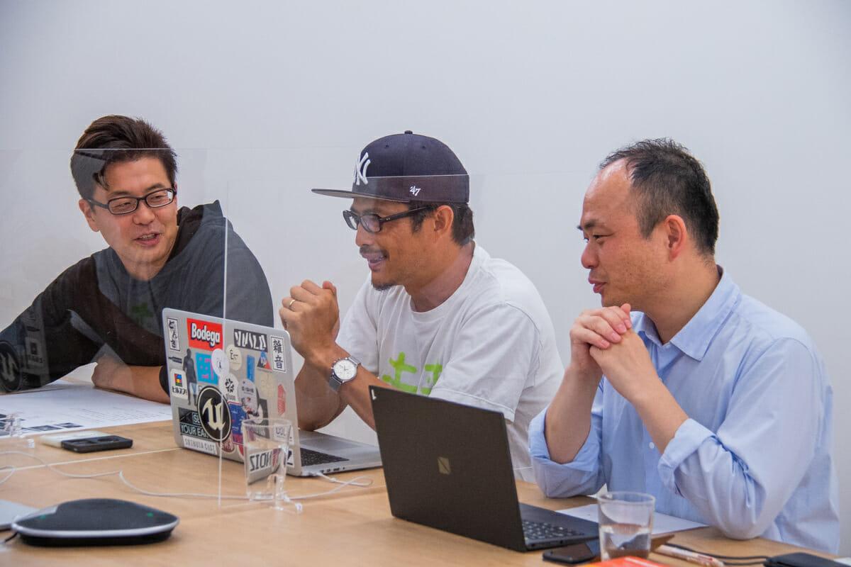 西澤さん、豊田さん、高橋さん