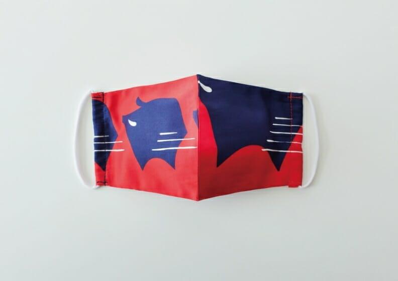 印染布マスク