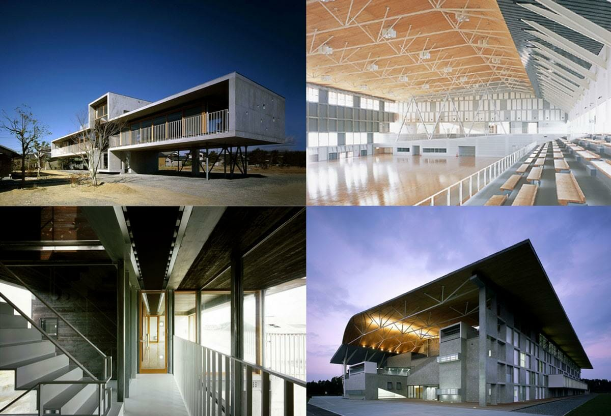 高橋さんが設計事務所時代に手がけた建築