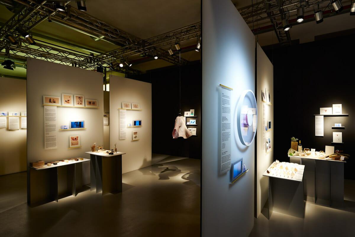 2016年ミラノデザインウィークでの展示風景