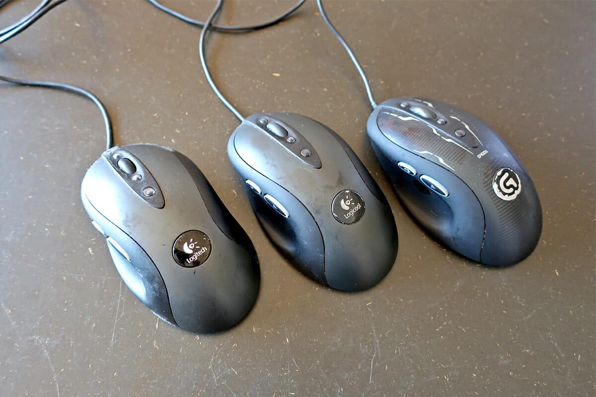 ロジクールのマウス