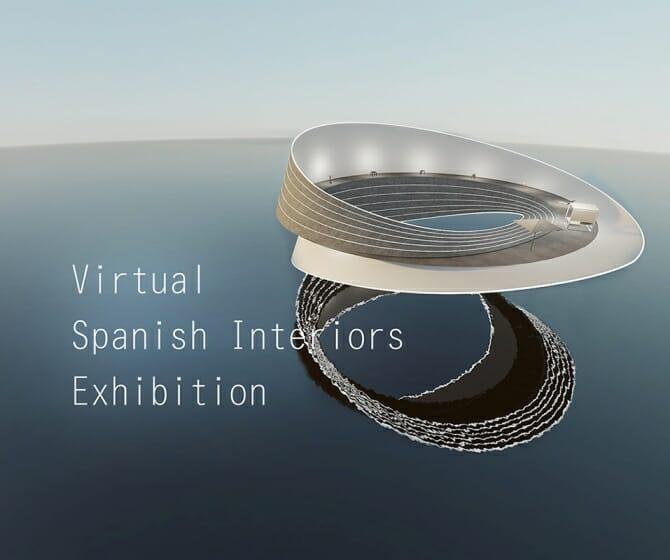 スペインのバーチャル・インテリア製品 展示会「メビウスの輪」