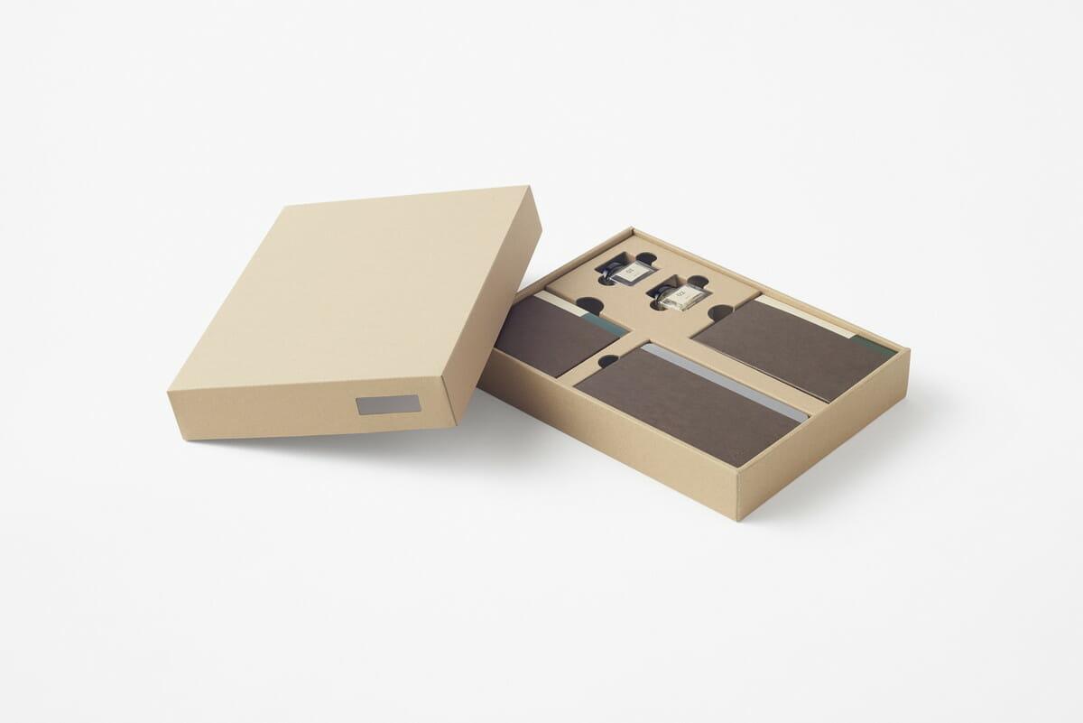 山の上ホテル ファイルボックスとしても使用できる詰め合わせ用ボックスの画像