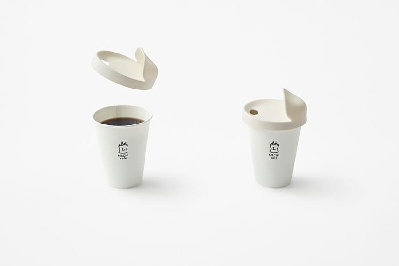 nendoが再使用できるローソンのコーヒーカップ専用のフタ「my-lid」をデザイン